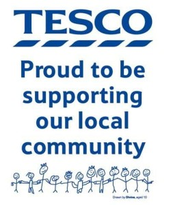 Tesco proud to be...